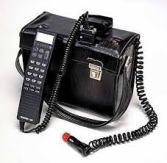 High Tech Car Phone circa 1991