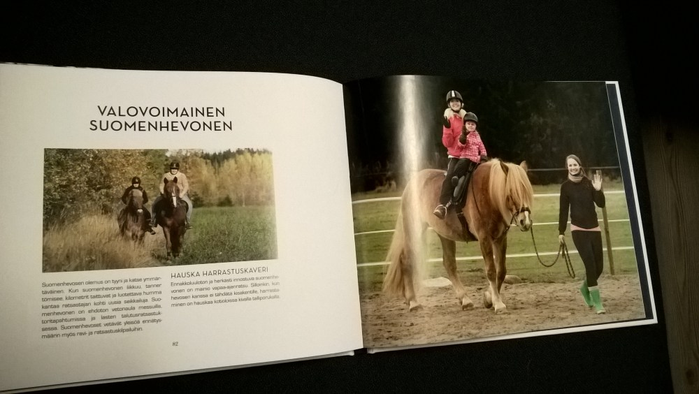 The Finnhorse - Our National Treasure book is available in English (3/6)