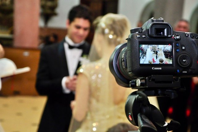 camera celebration wedding