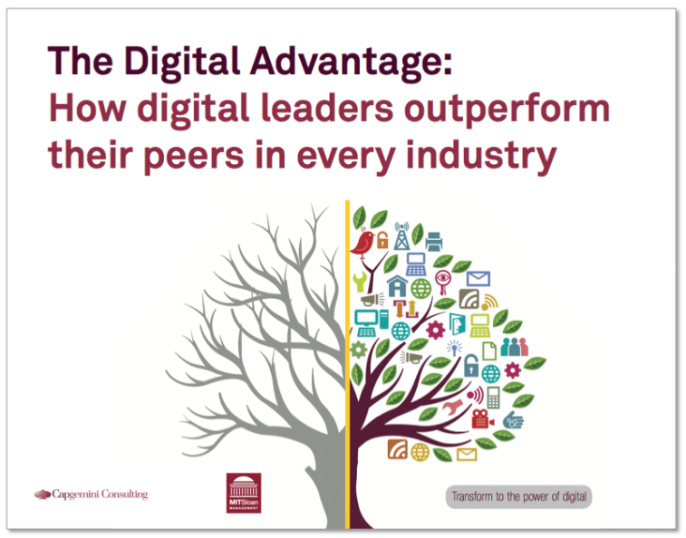 Digital Advantage digital leaders outperform pears Capgemini MIT finno