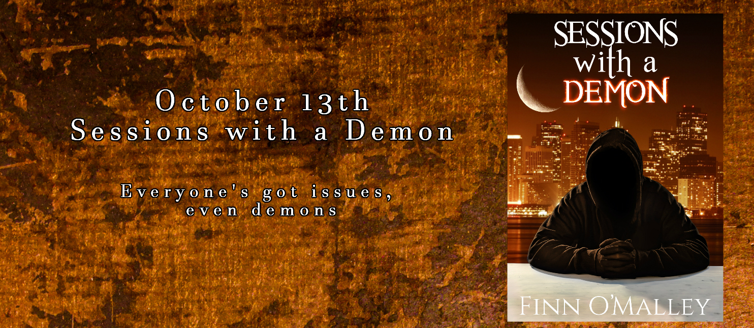 Sessions with a Demon book by Finn O'Malley Release date October 13, 2019