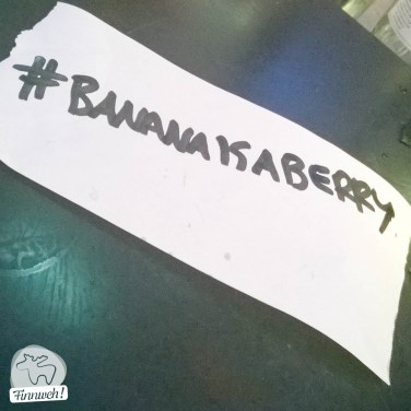 #Bananaisaberry - der Shake des Abends!