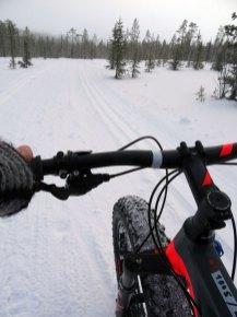 Radfahren im Schnee | Foto: Tarja Prüss