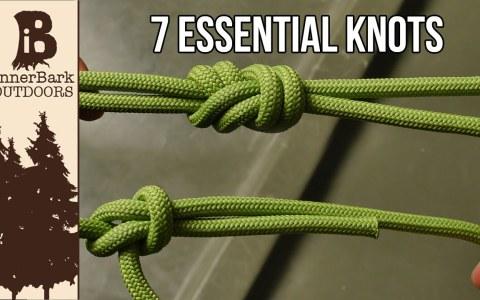 7 nudos esenciales que todo el mundo debería conocer