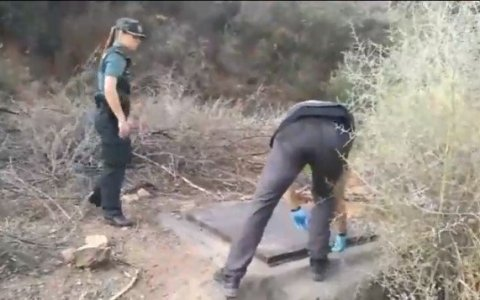 La Guardia Civil encuentra la puerta de acceso a Narnia