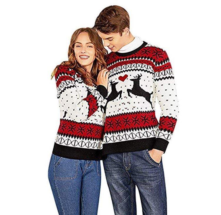 Jersey navideño para dos