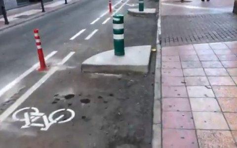 Murcia, la primera ciudad en crear carriles bici con obstáculos para ciclistas pro