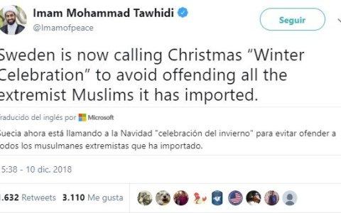 Mohammad Tawhidi, el imán colega
