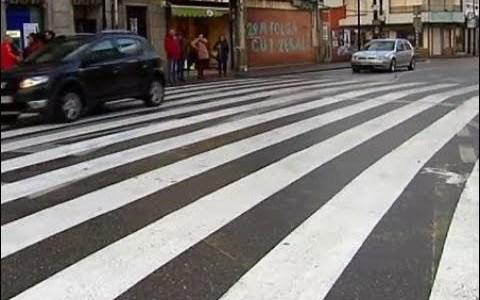 Cangas de Morrazo inaugura un paso de peatones de 40 metros