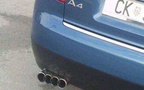 Un escape más Audi que el de serie