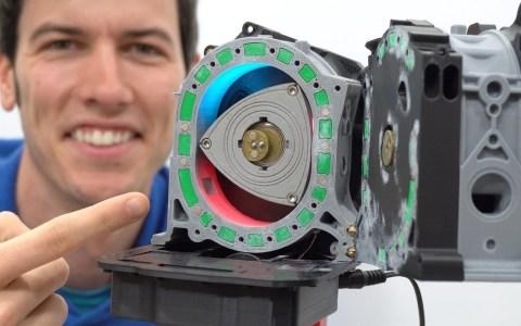Motor rotativo impreso en 3D + explicación de su funcionamiento
