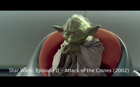 Todas las veces que Yoda dice Hmmm en la saga Star Wars