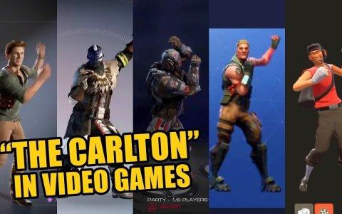 Todos los juegos que han usado el baile de Carlton Banks