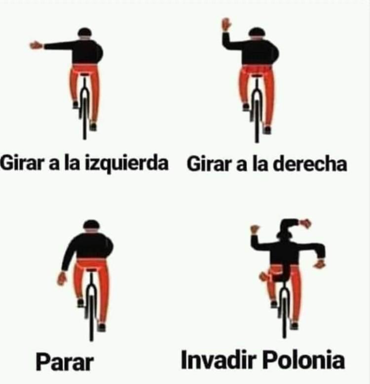 Aprende a señalizar como Dios manda tus maniobras sobre la bici