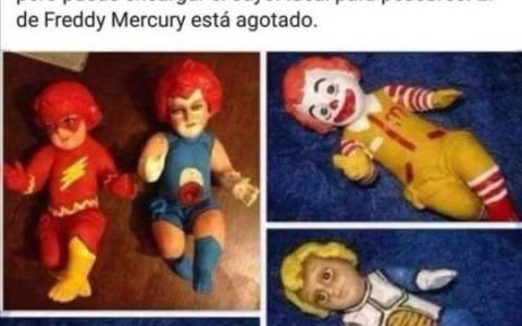El Niño Jesús Freddie Mercury está agotado