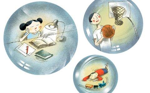 Ni notas en clase ni marcadores en baloncesto: el fin de la competitividad de los 'niños burbuja'