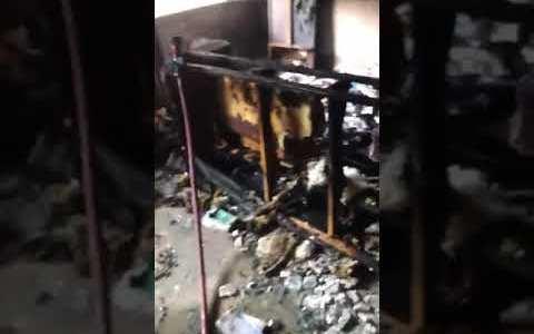 La importancia de cerrar las puertas durante un incendio