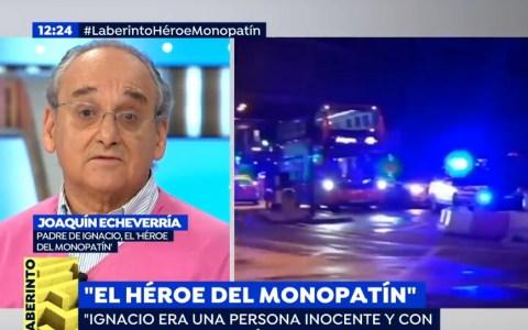 """El padre del """"Héroe del monopatín"""""""