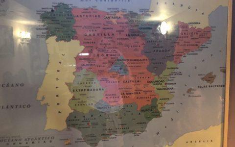 He comprado este mapa de España en los chinos y... no sé, creo que algo no está del todo bien
