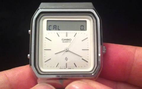 El primer reloj con pantalla táctil fue lanzado en 1984