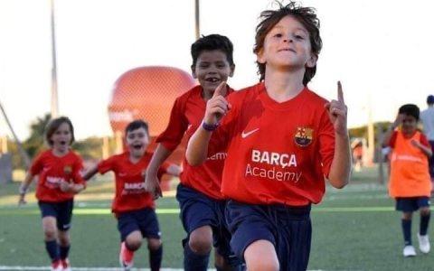 Parece que los experimentos genéticos del Barça están dando sus frutos...