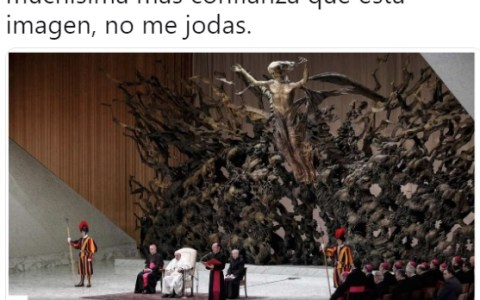 El final boss de la iglesia católica