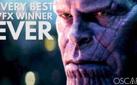 Todas las películas que han ganado Oscars a los mejores efectos especiales (1929 - 2019)