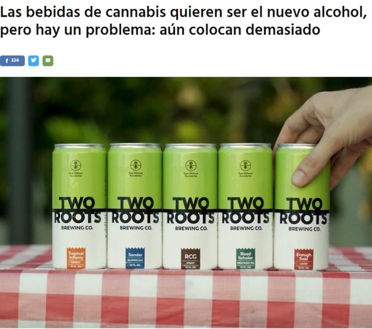 Bebidas de cannabis: ¿el nuevo alcohol?