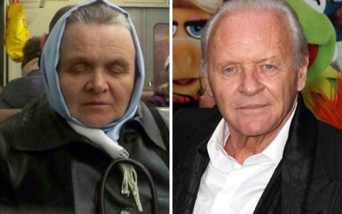Una de rusos que son dobles de famosos: