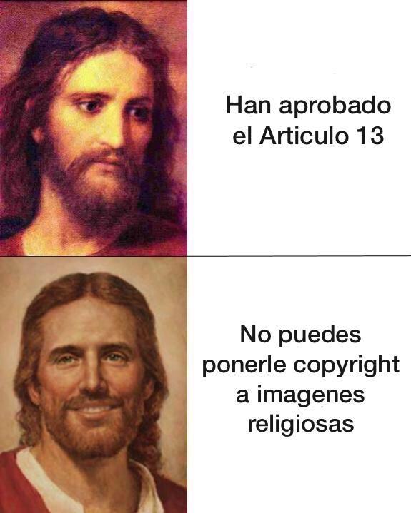 Recopilatorio de memes sobre el Artículo 13