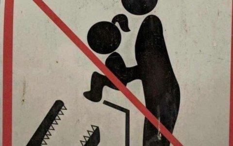 Recuerda: No alimentes a los cocodrilos con tu hijos
