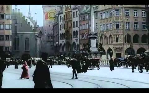 Así lucían las calles de Berlín en el año 1900 (en color)