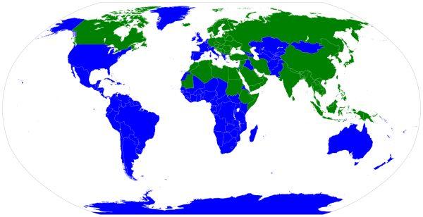 Mapamundi: países en los que el personal se quita los zapatos al entrar en casa: El dato que estabas esperando