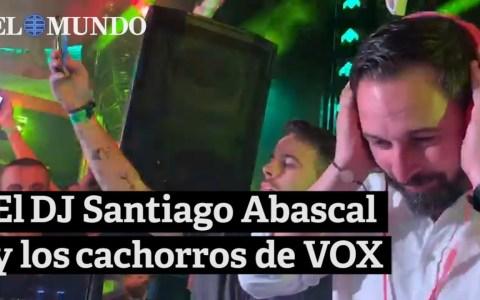 DJ Santi Abascal is in da jaus!
