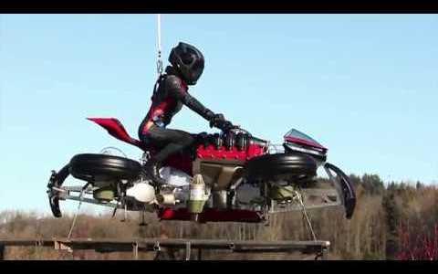 Lazareth LMV 496, la moto que se transforma en drone