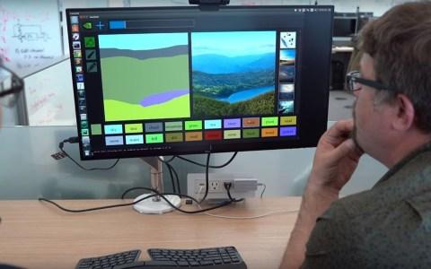 NVidia ha creado un algoritmo que convierte tus bocetos en imágenes fotorrealistas.