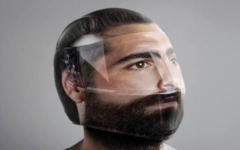 Casco réplica de tu cabeza
