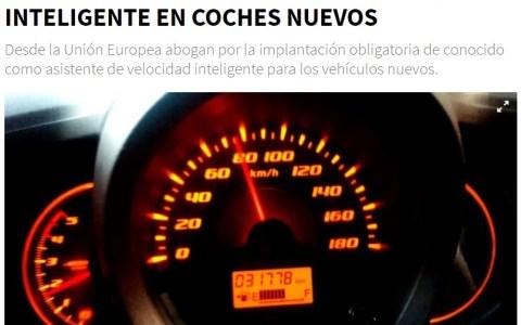¿Un limitador de velocidad en todos los coches nuevos a partir de 2022?