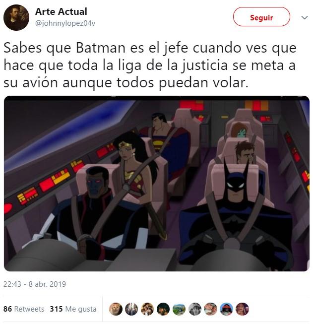 Batman manda