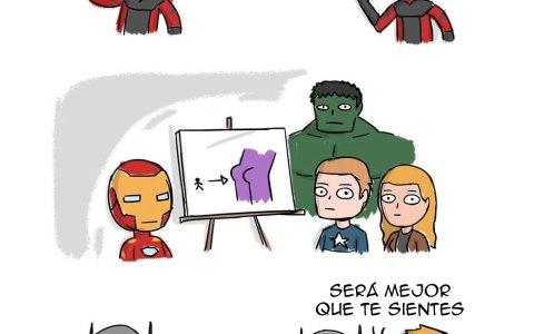 Reunión en la sede de los Vengadores