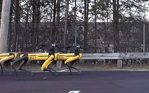 Boston Dynamics nos enseña el trineo del futuro