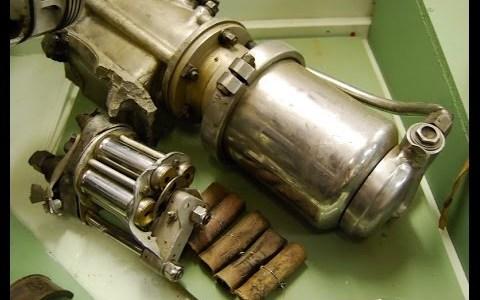 El motor de arranque que funciona con cartuchos de escopeta