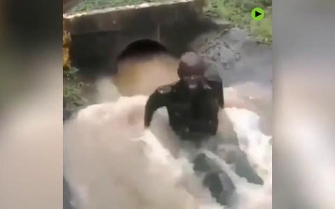 El parque acuático del subdesarrollo