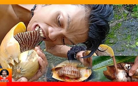 Primitive Eating: Caracol gigante a la brasa