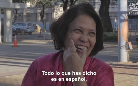 ¿Puede un Filipino hablar sin usar el español?