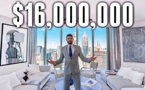 ¿Puede un piso (sí, un piso) costar la friolera de 16 millones de dólares?