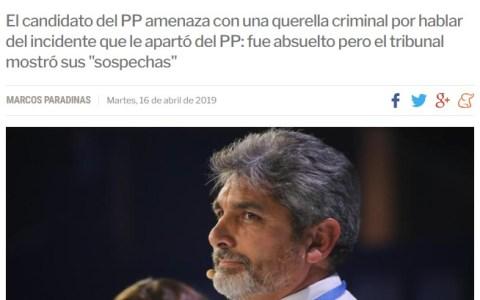 Juan José Cortés pidiéndole a la prensa que no haga su trabajo