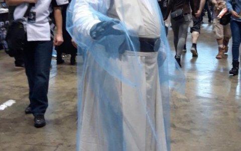 Maestro (Jedi) del cosplay