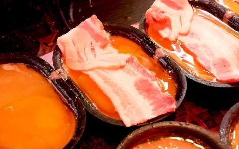 Pan de huevo y bacon