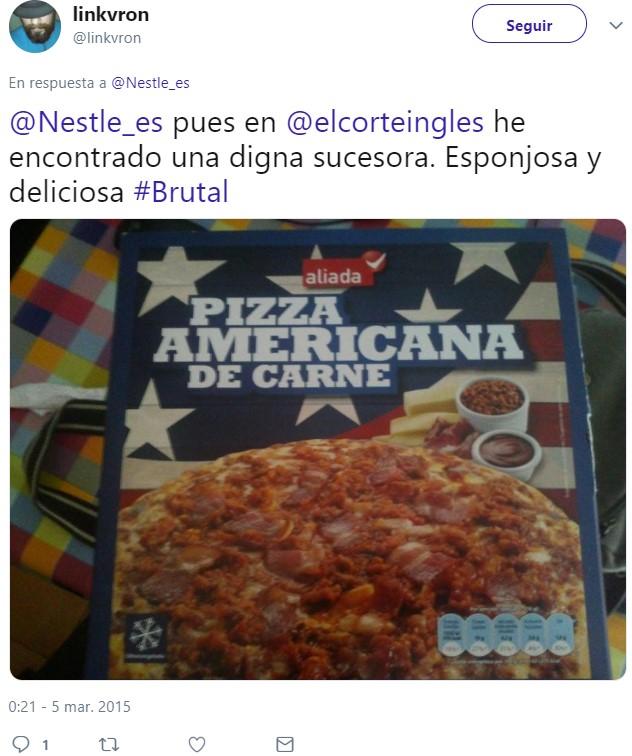 SuperPilopi replica la pizza sabor Barbacoa de La Cocinera